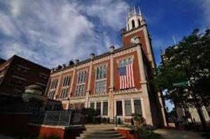 Manchester New Hampshire City Hall Exterior