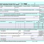 Form 1040 Tax Form