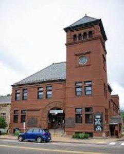 Franklin New Hampshire News Building